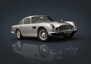 Aston Martin Db 5 Silver